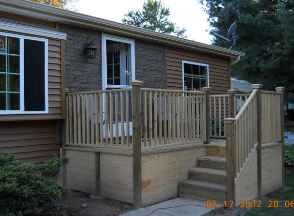 Double Wide Exterior Remodel