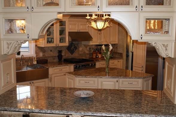 French Country Gourmet Kitchen in a Manufactured Home