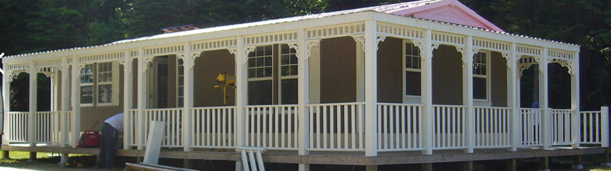 Habitaflex offers great inspiration for remodeling for Mobile home with wrap around porch