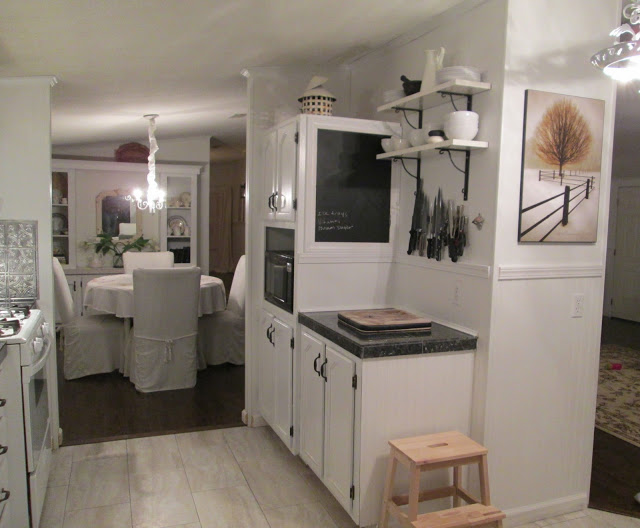manufactured home-kitchen after