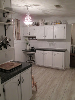 manufactured home makeover-kitchen 2