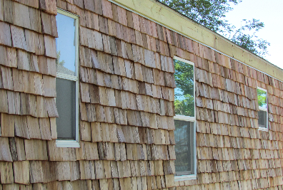 Cedar Siding On A Mobile Home Richard And Marie S Whim