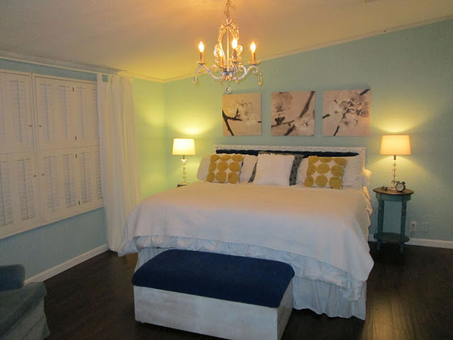Manufactured home-bedroom after