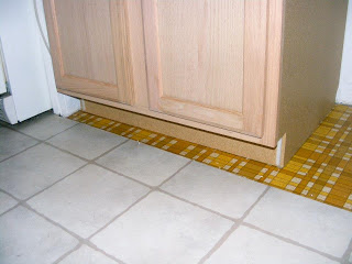 Single wide kitchen remodel-kitchen floor