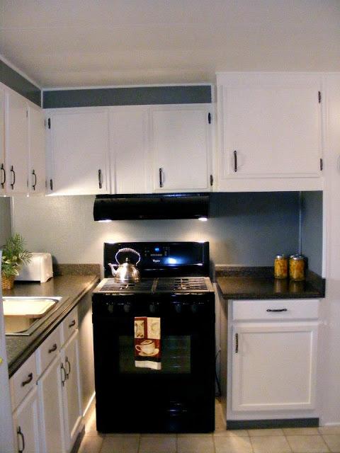 single wide kitchen remodel-stove