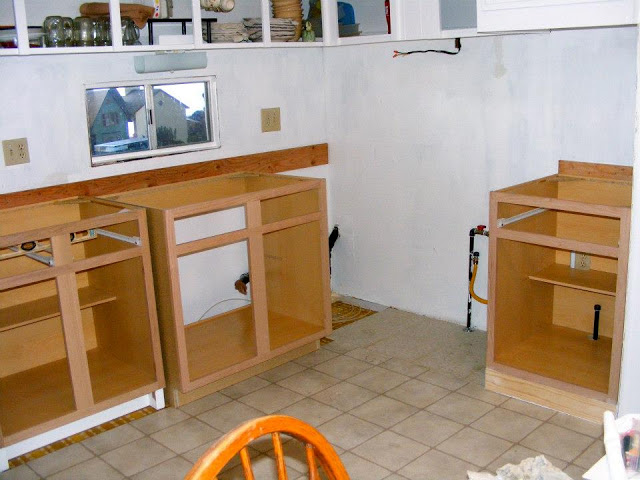 single wide kitchen remodel-kitchen cabinets