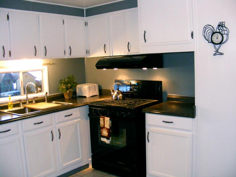 1971 single wide kitchen remodel mobile home living for Kitchen remodel ideas for older homes