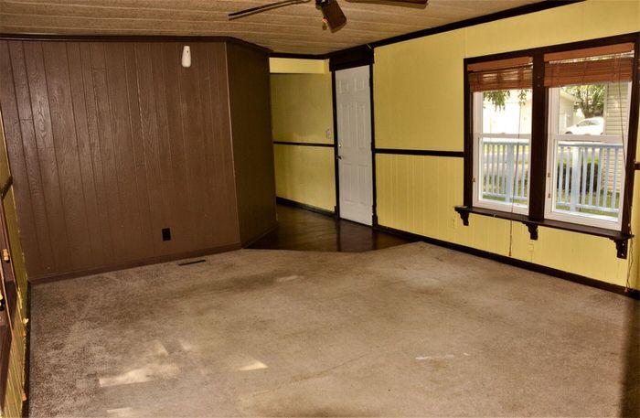 budget-friendly mobile homes-70's living room