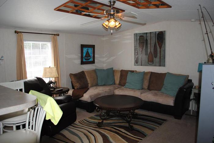 budget-friendly mobile homes-waterfront-living room