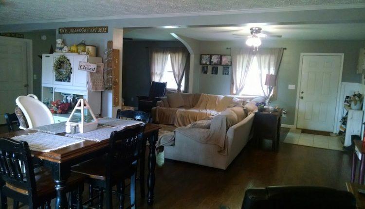 building a two-story addition onto a manufactured home - Jessicas favorite room - open space living