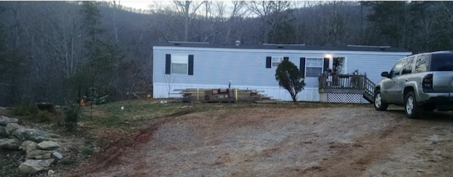building a two-story addition onto a manufactured home - the single wide before the additon