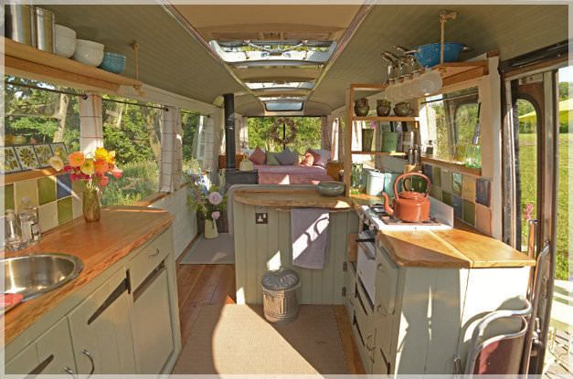 bus conversions-bed and breakfast interior 2