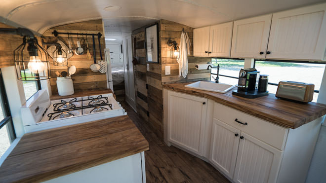 bus conversions-germany interior