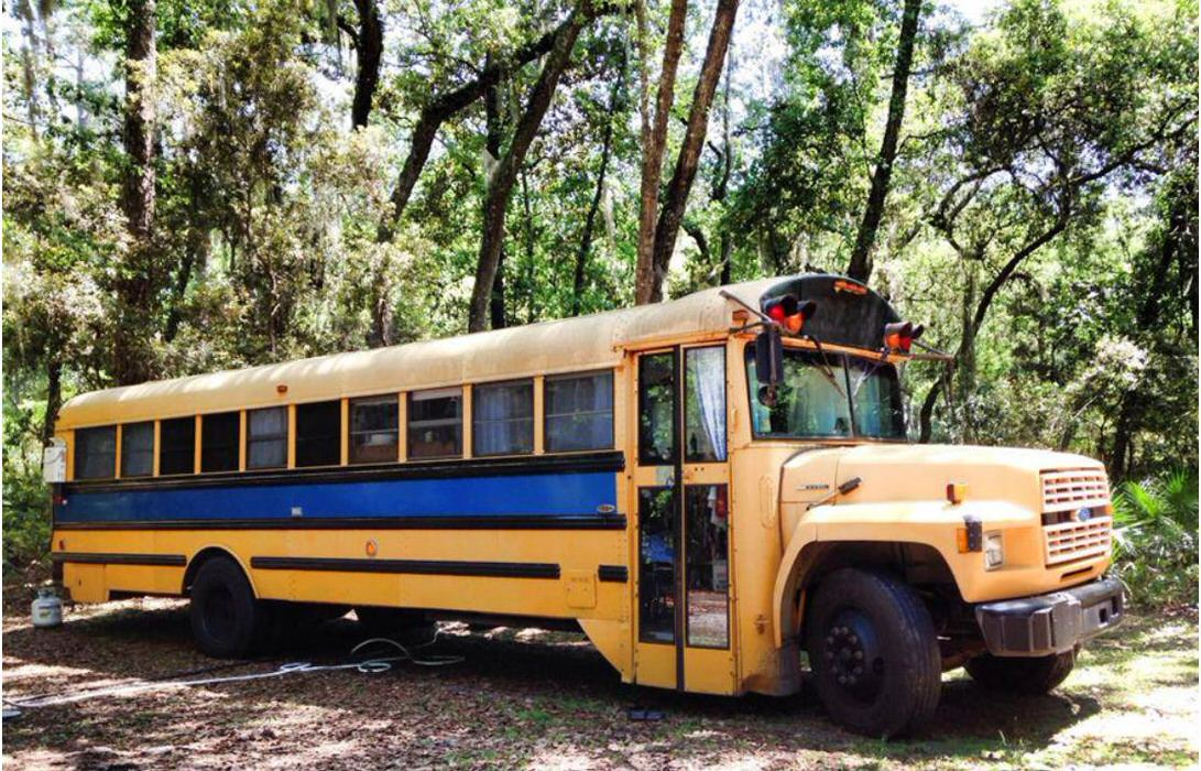 bus conversions-tiny home exterior