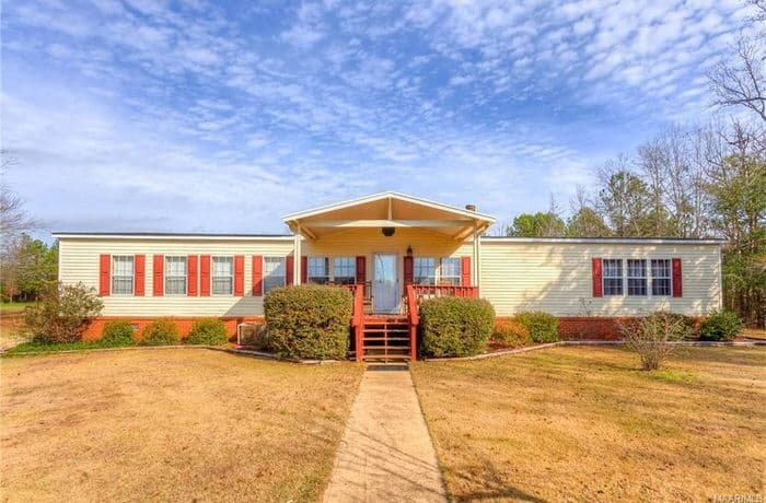 buying a mobile home in alabama-double wide with porch
