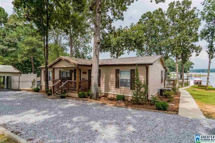 buying a mobile home in alabama-lake view double wide