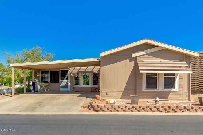 buying a mobile home in arizona-single wide and addition