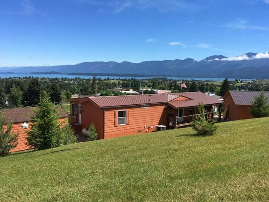 buying a mobile home in montana-home with view