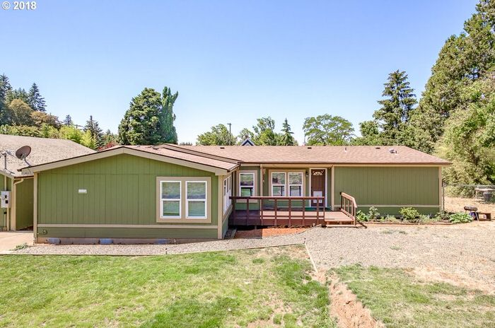 buying a mobile home in oregon-home with addition