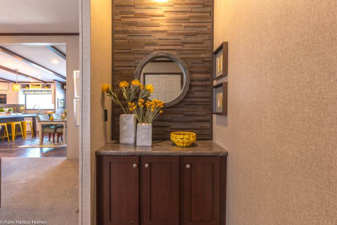 Arlington manufactured home entry way