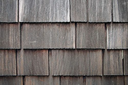 cedar siding on manufactured homes- untreated and weathered shingles