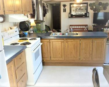 cheap mobile homes-wv kitchen living room