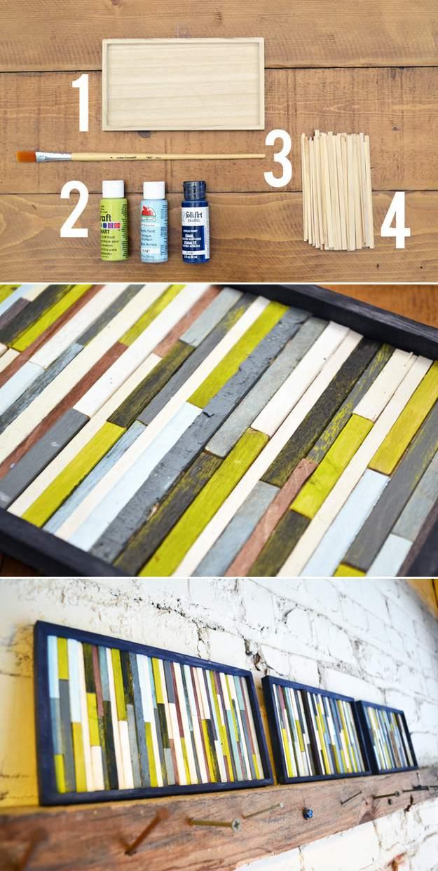 cheap-wall-art-ideas-coffee-stirrers-into-art