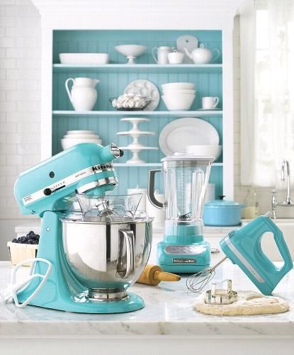 mobile home rental-colorful kitchen accessories
