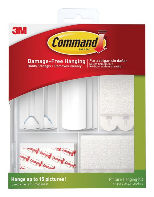 command hooks - decorating a rental home