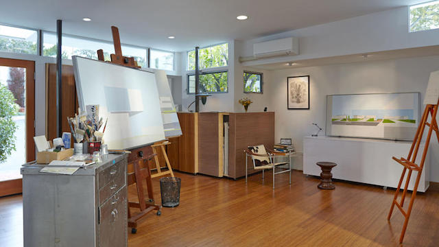 Complete 1964 mobile home remodel - after - studio