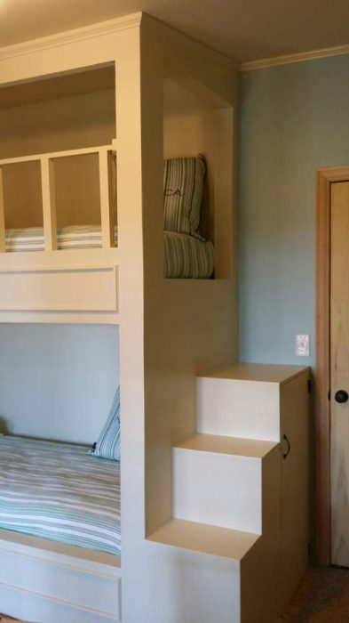 complete double wide remodel in Arkansas - bedrooms after 2