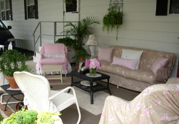 cottage style mobile home exterior decor