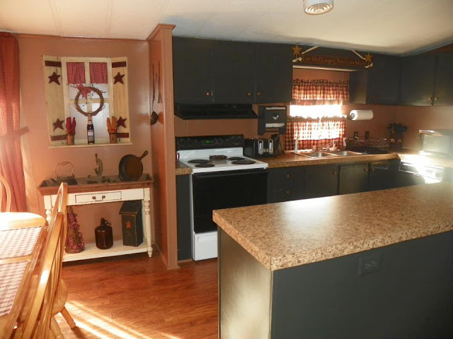 mobile home kitchen remodeling ideas - primitive style