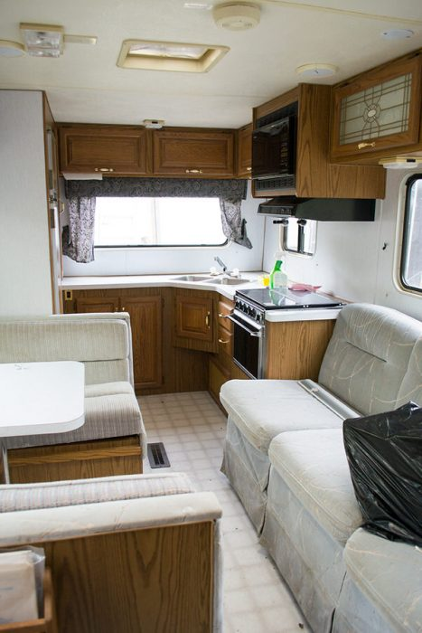 cozy RV remodel-before