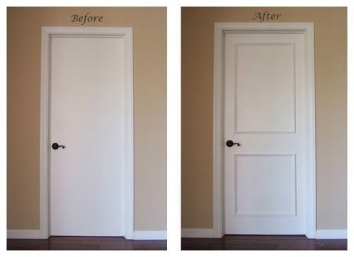 creative remodeling ideas for your mobile home -door trim