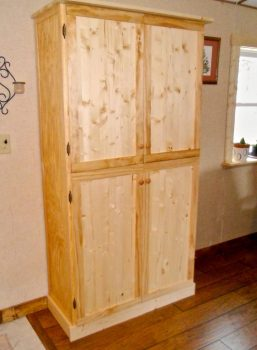 custom built furniture for manufactured home remodel in Wisconsin - how one family weathered and survived the economic and housing collapse_