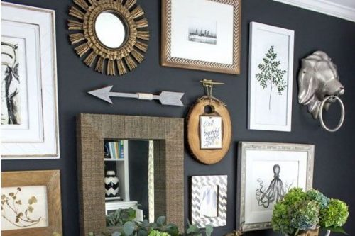 Decorating A Rental Home   Gallery Wall