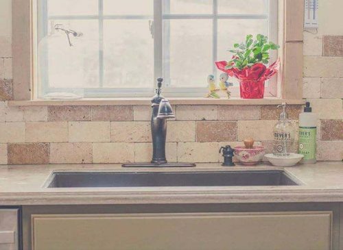 decorating your manufactured home - with stone tile