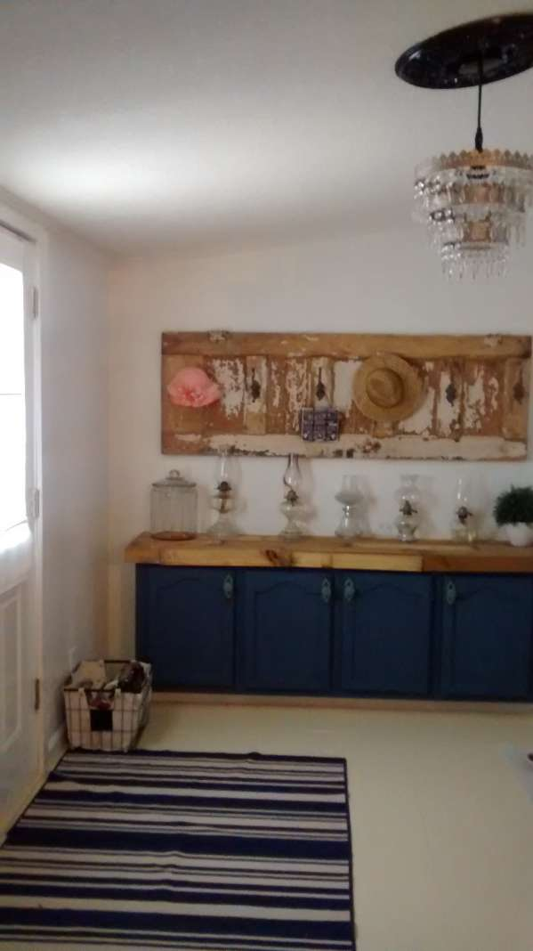double wide decor makeover (entry way ideas)