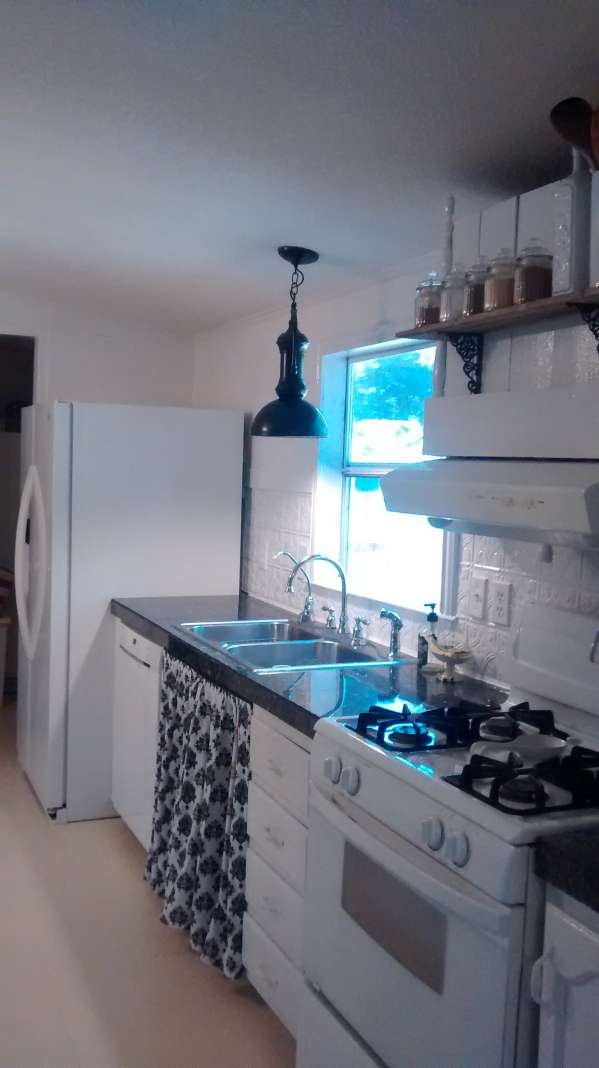 double wide decor makeover (kitchen remodeling ideas - storage)