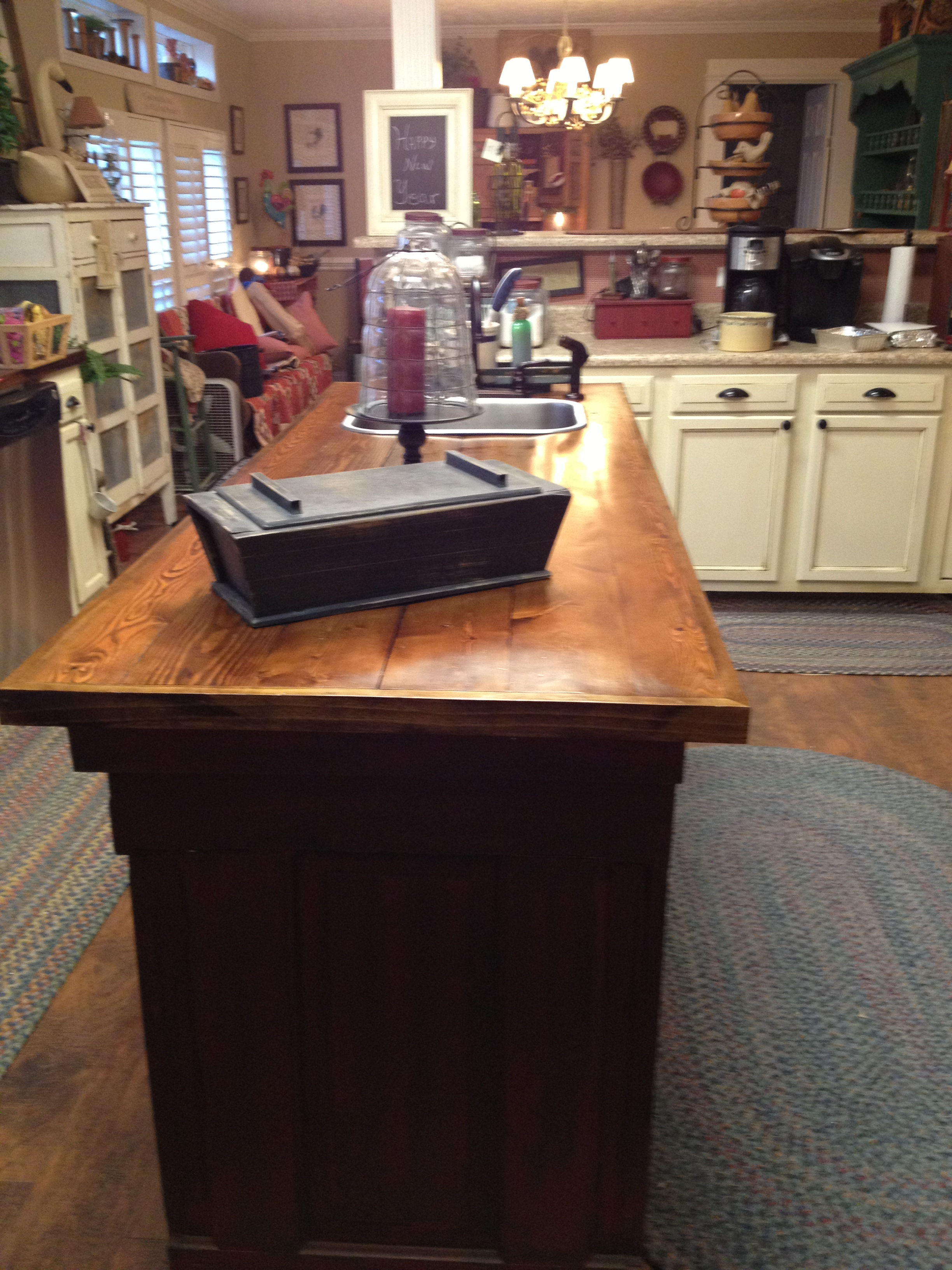 Red Deer Dump >> Old World Manufactured Home Kitchen Remodel