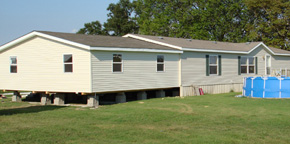 Double Wide Building Mobile Home Additions