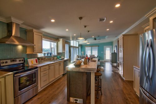 double wide mobile home design-kitchen 1