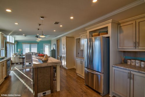 double wide mobile home design-kitchen 2