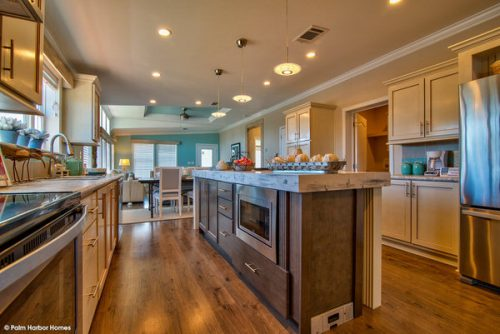 double wide mobile home design-kitchen 3