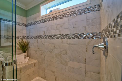 double wide mobile home design-shower