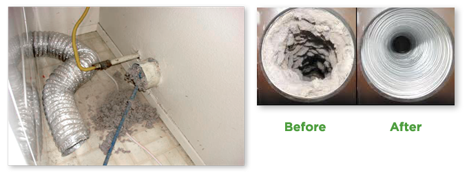 dryer-vent cleaning