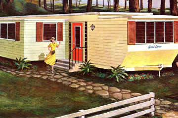 early 60s great lakes mobile home