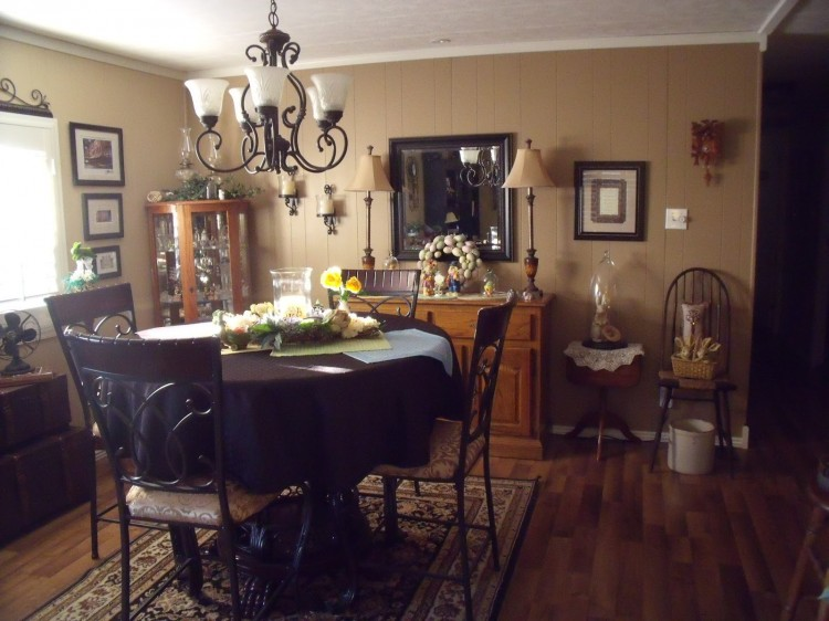 double wide mobile home dining room ideas