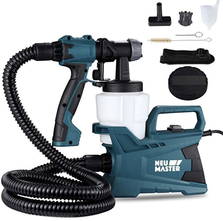 electric paint sprayer to paint metal siding